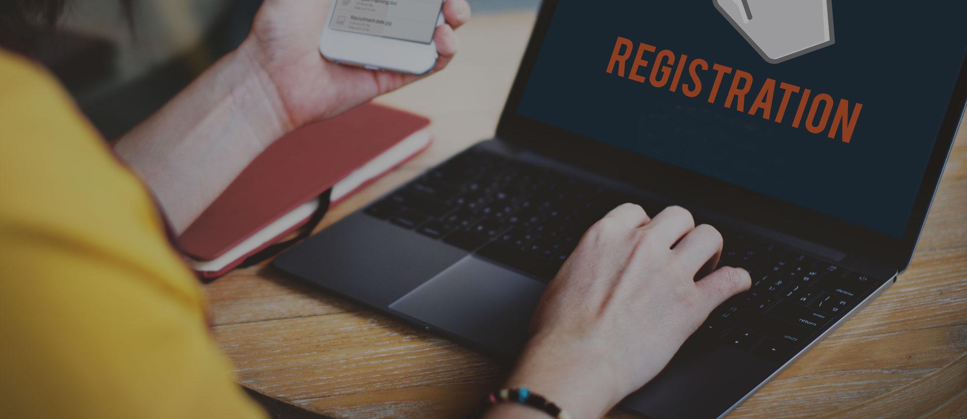 Product Registration Process